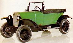 1924 Opel 4-12PS 'Laubfrosch' (tree frog)