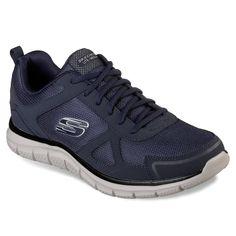 Skechers Afterburn Memory Hommes US 6.5 Blanc Chaussure de