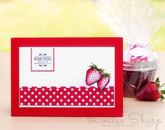 Stampin' Up! | INKspired Blog Hop - Strawberry Jam | By Louise Sharp