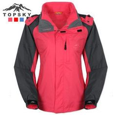 TOPSKY – Butterfly Waterproof Breathable Three-in-one Womens Ski Jacket « Clothing Impulse