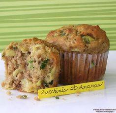 Dans la cuisine de Blanc-manger: Muffins aux zucchinis et ananas Muffins, Zucchini, Biscuits, Scones, Lunch, Breakfast, Healthy, Food, Pains