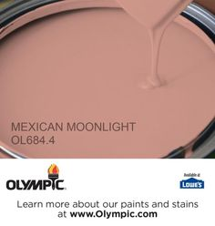 MEXICAN MOONLIGHT OL684.4 is a part of the reds collection by Olympic® Paint.