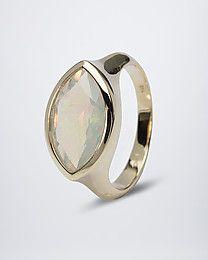 Terra Opalis Ring mit Kristallopal #terra #opalis #terraopalis #opal #schmuck #ring
