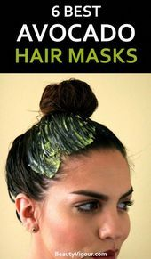 6 Best Avocado Hair Masks For Damaged And Dry Hair In this article we offer some avocado hair masks that include other excellent ingredients for hair care, such as coconut oil, olive oil, and yogurt. Coconut Oil Hair Treatment, Coconut Oil Hair Growth, Coconut Oil Hair Mask, Avocado Hair, Hair Mask For Growth, Hair Growth Treatment, Hair Treatments, Olive Oil Hair Mask, Up Dos