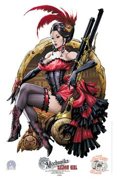 Lady Mechanika Saloon girl by ~joebenitez