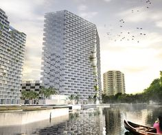 marina lofts by BIG architects approved for construction by fort lauderdale, florida city commission