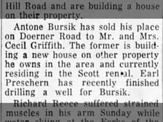 Anton sold his place 1960