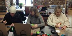 """Cafe Crop: store in Crown Point, IN - has a """"lending library"""" you can use in the store"""