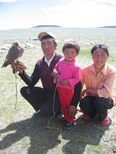 Mongolian Family Portrait