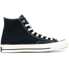 Converse Chuck Taylor All Stars 70s (€99) ❤ liked on Polyvore featuring men's fashion and black