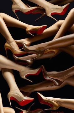 Nude is more than one color. Christian Louboutin