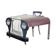 Driver's Seat Vintage Jeep Desk #fathers #day #dad #gift