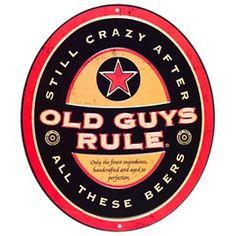 Old Guys Rule Older I Get Bottle Opener