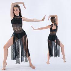 Ballet, Contemporary & Lyrical Dance Costumes : Contemporain