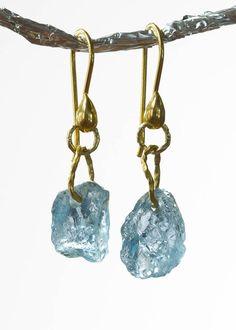 Mozambique Aquamarine Earings     Tula GemsTula Gems