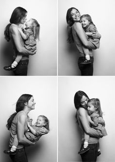 family portraits / mommy and me