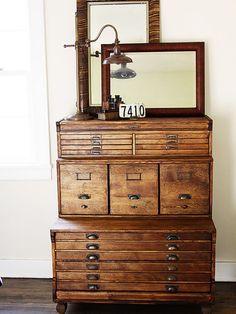 Inspirational Flat Drawer Storage Cabinets