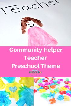 The overlooked, yet very important community helper teachers are a great preschool theme idea! Preschool Lesson Plans, Preschool Themes, Preschool Classroom, Science Education, Physical Education, Human Body Unit, Space Activities, Deaf Culture, Community Helpers