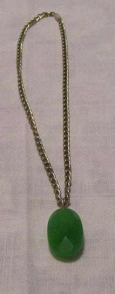 Jade necklace - A$15.00