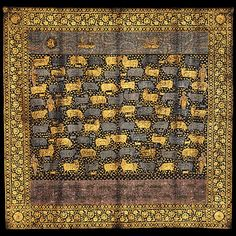 Painted Cloth (Pichwai) Depicting the Celebration of the Festival of Cows [India, Deccan] (2003.177) | Heilbrunn Timeline of Art History | The Metropolitan Museum of Art