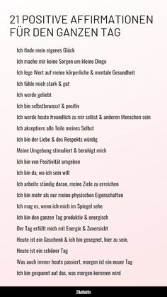 Daily Positive Affirmations, Positive Mindset, Positive Thoughts, Positive Vibes, Positive Quotes, German Language Learning, Knowledge Quotes, Positive Living, Mind Tricks