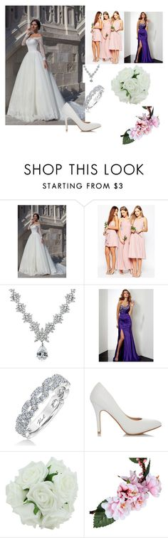 """""""Wedding"""" by aamila12345678 ❤ liked on Polyvore featuring ASOS, Icz Stonez and Karl Lagerfeld"""