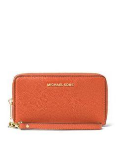 MICHAEL Michael Kors Kors Studio Collection Mercer Large Phone Case Michael  Kors Wristlet e60eed45bf6c9