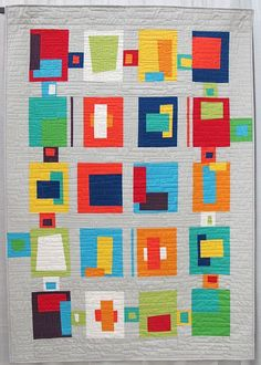 Blocks from the Crayon Box by Carolyn Griffith. Abilene, Texas.