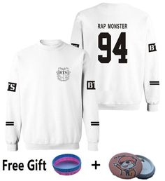 New Plus Size XXXXL Capless Hot Kpop BTS Bangtan Boys Hoodies For Women Men Unisex Sweatshirt hoody Streetwear Brand Clothing