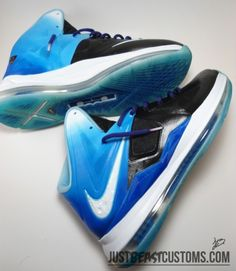 nike lebron x playstation customs 05 570x656 Nike LeBron X Playstation Customs by Just Beast