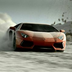 Off-road playtime with a Lamborghini Aventador