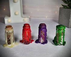 MANIFEST THAT SHIT Bottle Kit - Manifestation Jar Kit, Manifestation bottle, Dream Job Spell Bottle, Soulmate Spell Jar, Money spell Bottle