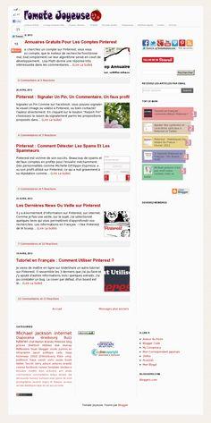 Le blog de TomateJoyeuse