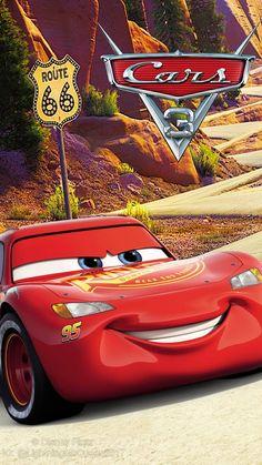Cars 3 Lightning McQueen Wallpaper Logo by on DeviantArt<br> Disney Pixar Cars, Disney Cars Party, Car Party, Disney Disney, Cars 3 Lightning Mcqueen, Lightening Mcqueen, Cars 3 Full Movie, Disney Cars Wallpaper, Car Animation