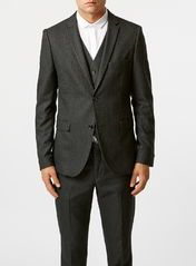 Selected Homme Black Mylo Three Piece Suit