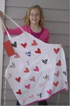 a heart for every child in the class & sign their names next to it! Cute for grandma's too!