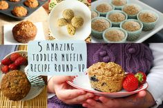 5 Amazing Toddler Muffin Recipes Round-Up — Baby FoodE | organic baby food recipes to inspire adventurous eating