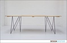 From Jo Wilton & Mirka Grohn (United Kingdom): Plank Table