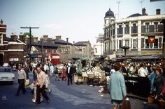 Woolwich market, over the river from me Uk History, London History, British History, Local History, Family History, Vintage London, Old London, East London, Old Pictures