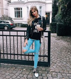 Xenia van der Woodsen, from xeniaoverdose.com, wearing our REGLIS BIS C sweater