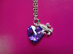 Descendants Mal inspired necklace by TinkerGirlBoutique on Etsy