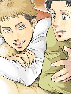 Anime/manga: SNK Characters: Jean and Marco, T-T MARCO.