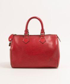 Louis Vuitton Speedy 25 In Epi Brown #bags #fashion