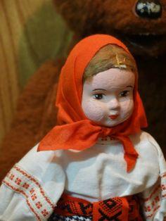 В Музее кукол и детской книги «Страна чудес» сегодня открылась новая экспозиция, на тему русских сказок. Я со своими детками