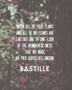 flaws by bastille acoustic