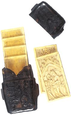 Wax tablets - for Eric.  Royal Library of Belgium: Department of Manuscripts