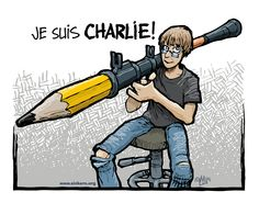je suis charlie cartoon - Google Search