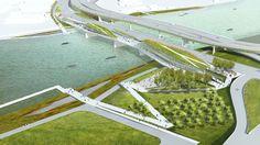 Galeria - 81 propostas para o primeiro parque elevado de Washington - 7