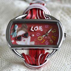 MINI hodinky - Zamilovaná Love, Amor