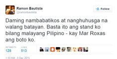 Not sorry: Ramon Bautista defends endorsement of Mar Roxas in star-studded video #RagnarokConnection